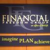 Financial Freedom Group sign - Rochester, NY