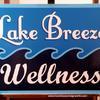 Lake Breeze Wellness sign - Rochester, NY