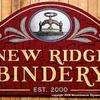 New Ridge Bindery sign - Rochester, NY