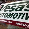 Vesa's Automotive sign - Rochester, NY