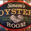 Simeon's Restaurant Oyster Room sign - Ithaca, NY